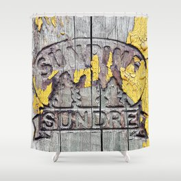 All and Sundry Shower Curtain