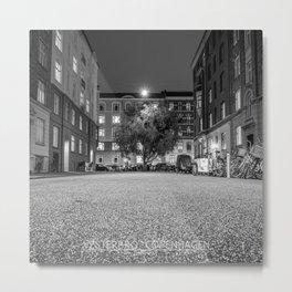 Urban Nature, Vesterbro, Copenhagen B&W Metal Print
