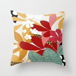 Jungle Spotting Throw Pillow
