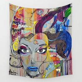 Scary Posh Spice Wall Tapestry