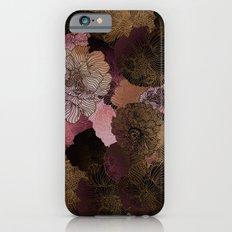 FLORAL PINKS iPhone 6 Slim Case