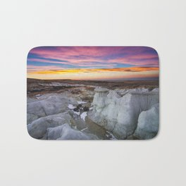 The Painted Mines Bath Mat