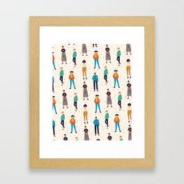 These girls can kick your butt! Framed Art Print