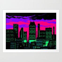 Cityscape #99 Art Print