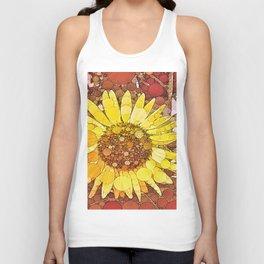 :: Sunflower Wishes :: Unisex Tank Top