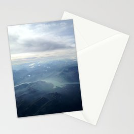 Spatial Glacial Stationery Cards
