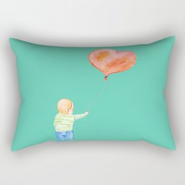 With All my Heart Rectangular Pillow