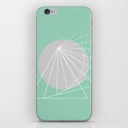 Everything belongs to geometry #5 iPhone Skin