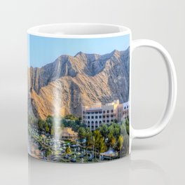 Shangri la resort Muscat Oman Coffee Mug