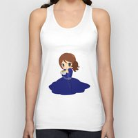 ouat Tank Tops featuring OUAT - Belle by Choco-Minto