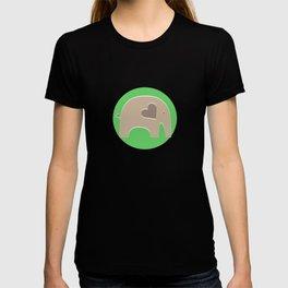 Green Safari Elephant T-shirt