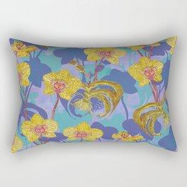 Tropical Orchids Rectangular Pillow