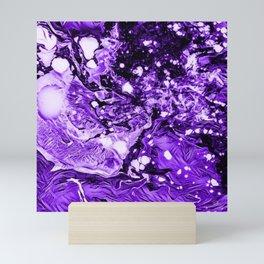 Purple in Abstract Mini Art Print