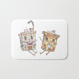 Chit and Chat Bath Mat