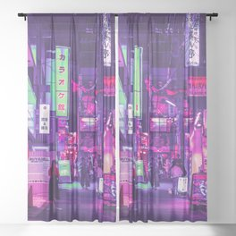 Neon Muse Sheer Curtain