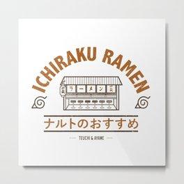Ichiraku Ramen Konohagakure Metal Print