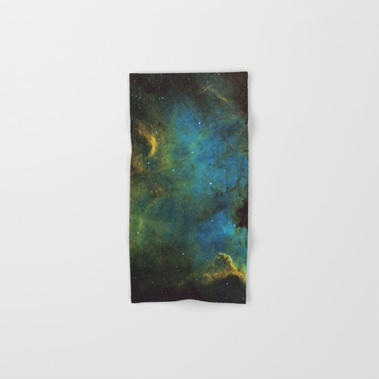 North American and Pelican Nebula Hand & Bath Towel