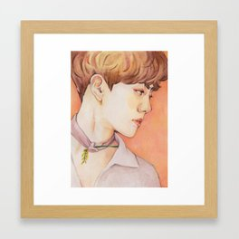 EXO KoKoBop | Suho Framed Art Print
