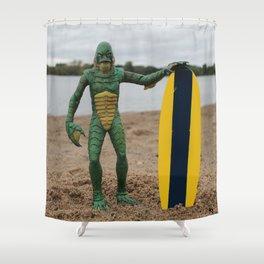 Surfer Dude Shower Curtain