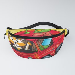 Scary Apple Delivery Fanny Pack