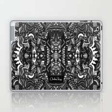 King of the City Black and White Laptop & iPad Skin