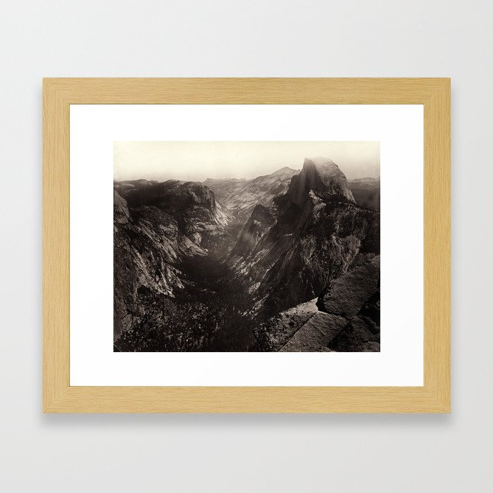 Half Dome, Yosemite Valley, California Framed Art Print