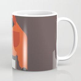 Big Muscle Man Art Coffee Mug