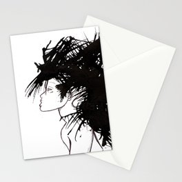 Hair 6 Stationery Cards