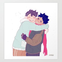 tiny iwaois Art Print