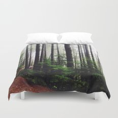 Sound of the Trees Duvet Cover