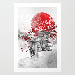 the warrior path Art Print