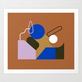 Moving Art Print