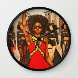 Formation Wall Clock