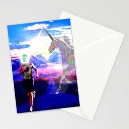 Unicorn Phaser Stationery Cards
