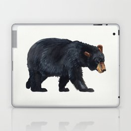 Watercolour Black Bear Drawing Laptop & iPad Skin