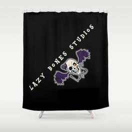 FOR THE LBS CONVENTION TABLES Shower Curtain