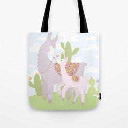 Momma Llama Tote Bag