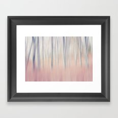 Pastel Woods Framed Art Print