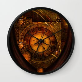 Awesome noble steampunk design Wall Clock