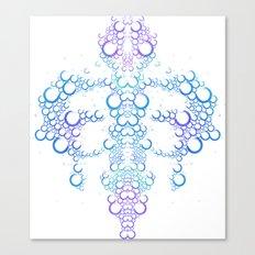 Ink Blot (Light) Canvas Print
