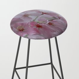 Delicate Pink Blossoms Bar Stool