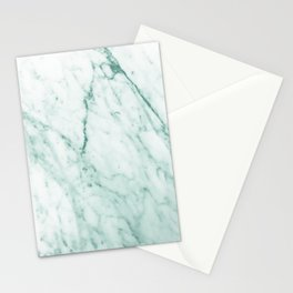 Emerald Marble Stationery Cards