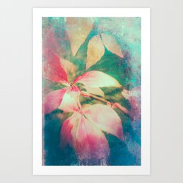Autumn Vibrations 01 Art Print