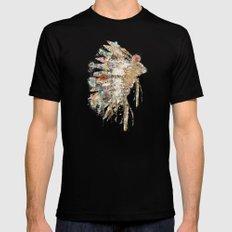 headdress Mens Fitted Tee Black 2X-LARGE