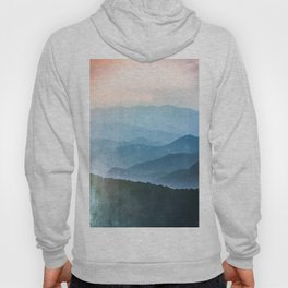 Great Smoky Mountain National Park Sunset Layers - Nature Photography Hoody