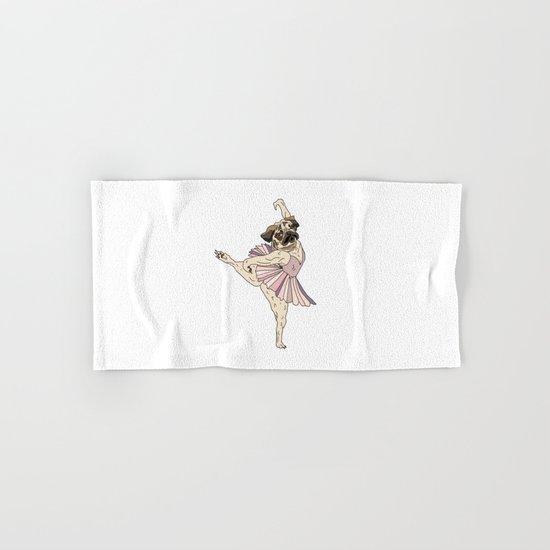 Dog Ballerina Tutu Hand & Bath Towel