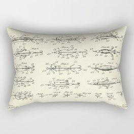 Fish Bait or Lure-1907 Rectangular Pillow