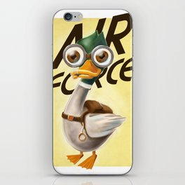 Corporal Duck iPhone Skin