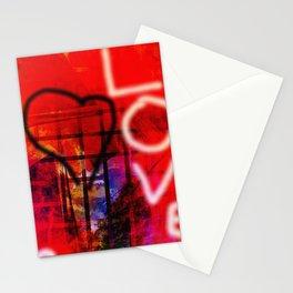 Love Graffiti Stationery Cards