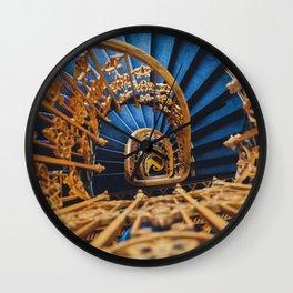 Parisian Staircase Wall Clock